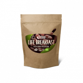 Raw Organic LIFE BREAKFAST Bowl Cacao Quinoa Protein