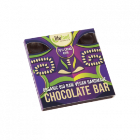 Raw Organic 70 % Cacao Chia Chocolate 35g