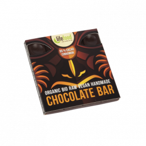 Raw Organic 95 % Cacao Cinnamon Chocolate 35g