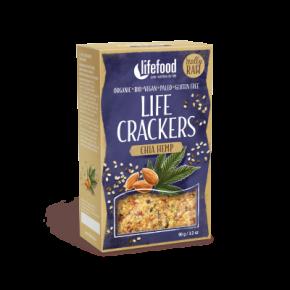 Raw Organic Chia Hemp Life Crackers