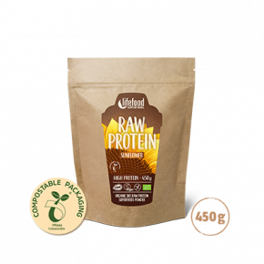 Raw Organic Sunflower Protein 450 g