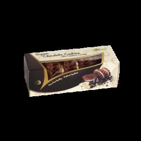 Raw Organic Chocolate Cookies with Cashew Cream