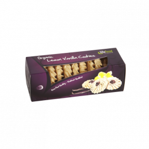 Raw Organic Lemon Vanilla Cookies
