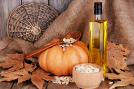 New : Cold Pressed RAW ORGANIC Pumpkin Seed Oil