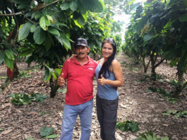 A report from a slightly different cocoa farm