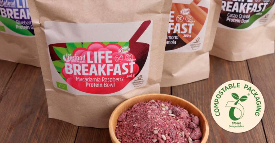 Lifefood lanceert 100% composteerbare verpakkingen
