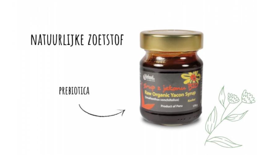 Op zoek naar een gezonde zoetmaker? Ga voor Yacon – met prebiotica!