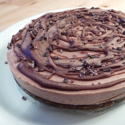 Raw Chocolate Cheesecake