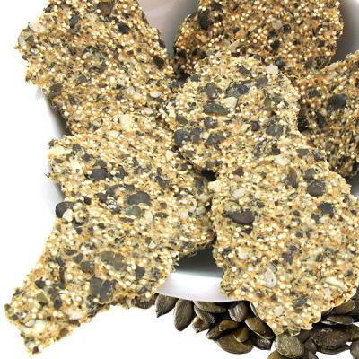Pompoenpitten & Quinoa Crackers