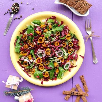 Gemarineerde Pompoen Salade