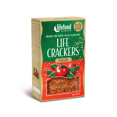 Life Crackers Italiaans RAW & BIO