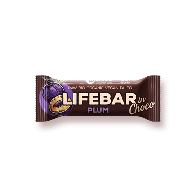 Lifebar InChoco Plum RAW & BIO