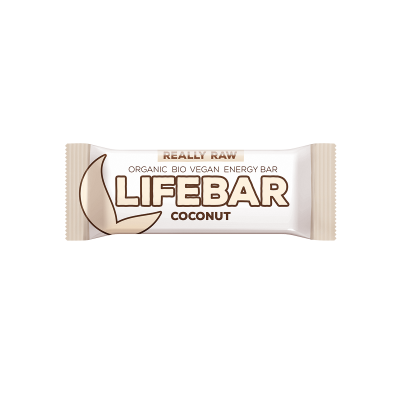 Lifebar Energiereep Kokos RAW & BIO
