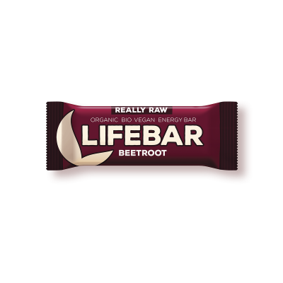 Lifebar Energiereep Rode Biet RAW & BIO