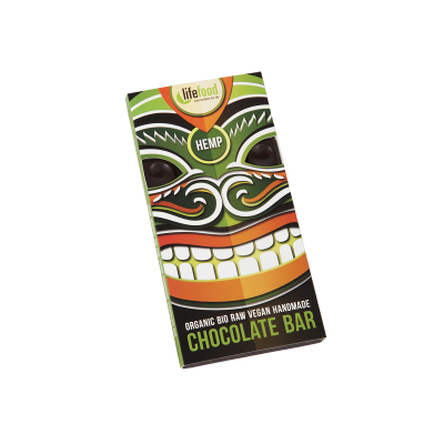 Rauwe Chocolade Hennep BIO 70 g