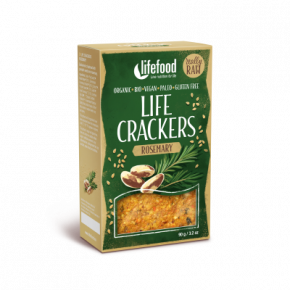 Life Crackers Rozemarijn RAW & BIO