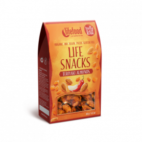 Life Snacks Teriyaki Amandelen RAW & BIO