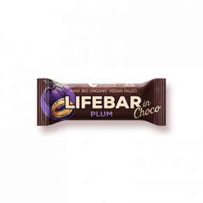 Lifebar InChoco Pruim RAW & BIO
