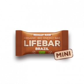 MINI Lifebar Energiereep Brazil RAW & BIO