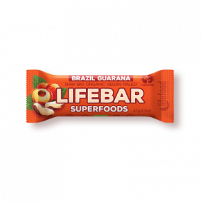 Lifebar Superfoods Energiereep Brazil Guarana RAW & BIO