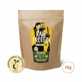 Superfood Proteïnepoeder Green Vanilla RAW & BIO 1kg