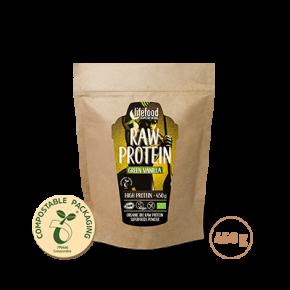 Superfood Proteïnepoeder Green Vanilla RAW & BIO 450 g