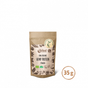 Superfood Proteïnepoeder Hemp Power RAW & BIO 35 g