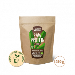 Superfood Proteïnepoeder Hemp Power RAW & BIO 450 g