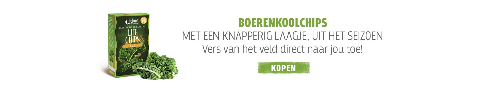 Groentechips Boerenkool