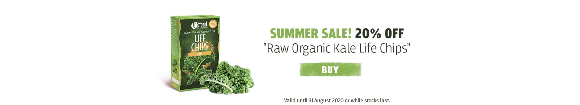 Kale Life Chips - 20% OFF