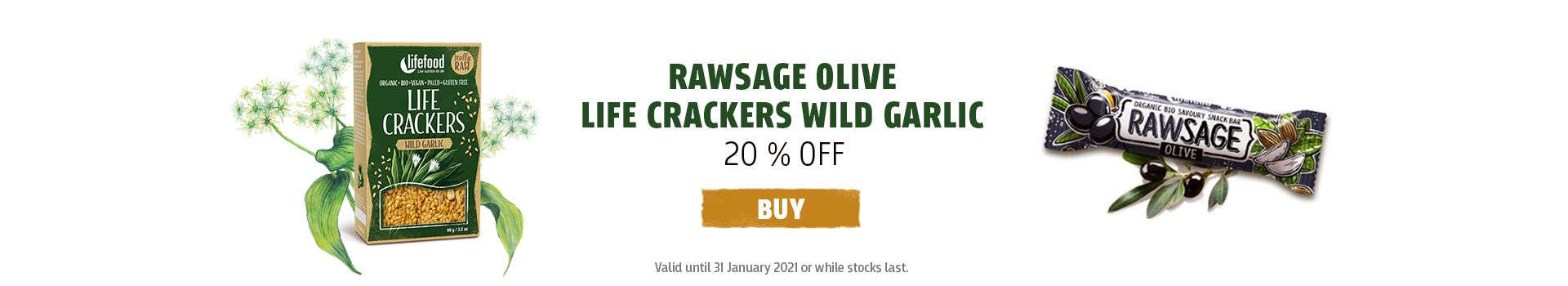 Rawsage + Crackers